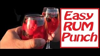 Make An Easy Rum Punch