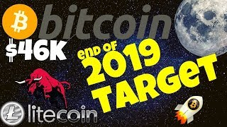 🚀BITCOIN TO $46K end of 2019 TARGET ?🚀 bitcoin litecoin price prediction, analysis, news, trading