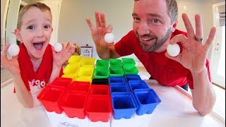 Father & Son PLAY PLING PONG! / The Trick Shot Game!