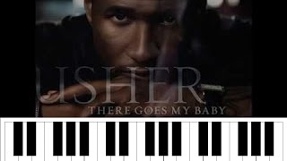 Usher  There Goes My Baby Piano - Tutorial Tuesdays