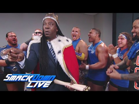 King Booker emerges to inspire tag team survival: SmackDown LIVE, Nov. 15, 2016