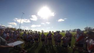 Boort Legends Game GoPro Coach Barney first quarter speach