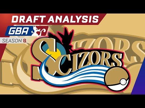 Philadelphia Scizors GBA Season 8 Draft Recap