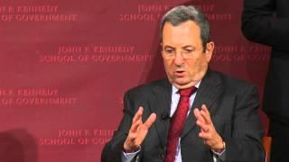 A Conversation With Ehud Barak