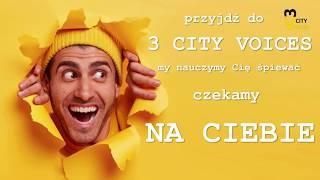 witamy w szkole wokalnej 3 CITY VOICES :)