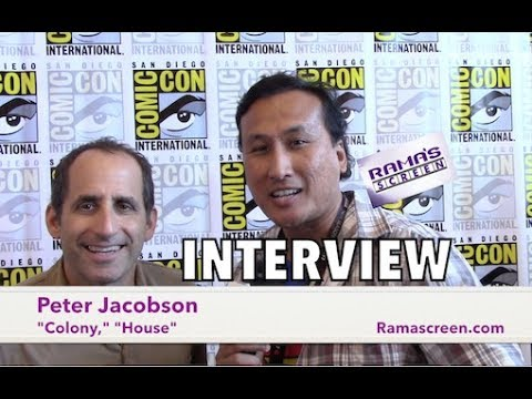 My #SDCC 2017 Interview with 'COLONY' Star, Peter Jacobson