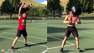 Bulgarian Bag combination with Suples Ball