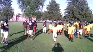 Mid City Steelers Practice