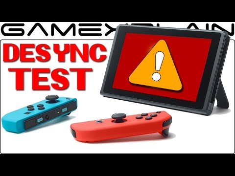 Desyncing Joy-Con Problem?! We Test the Nintendo Switch To Find the Cause