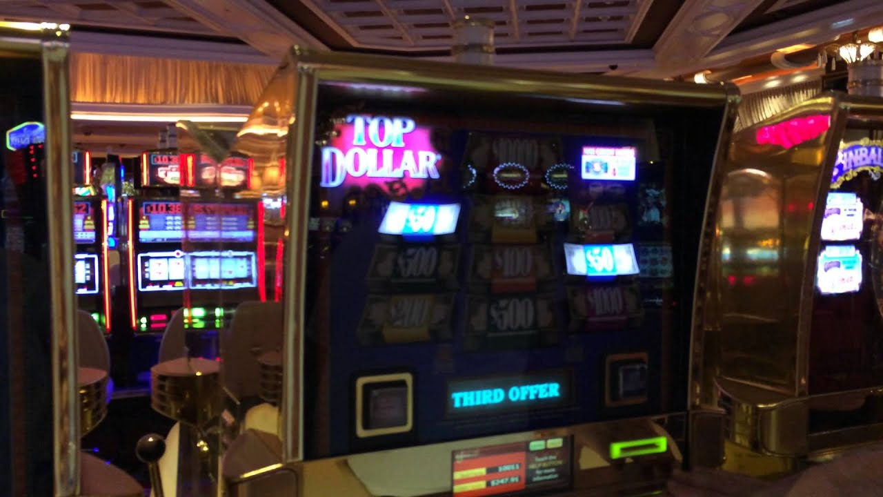 top dollar slot wins