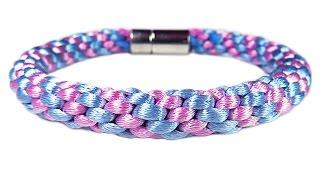 """DIY: Kumihimo blacelet / Браслет """"Кумихимо"""" из 8 нитей своими руками. Как сделать """"Кумихимо"""" диск."""
