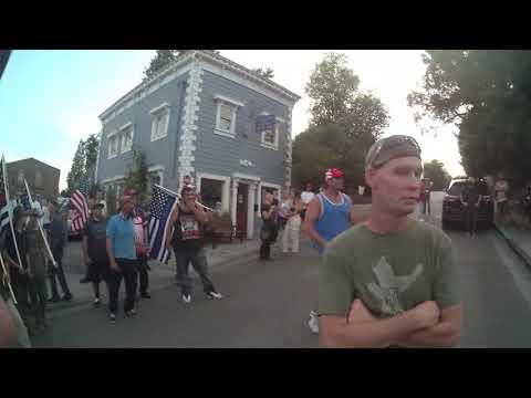 NCPD footage of August 9, 2020 - video 1