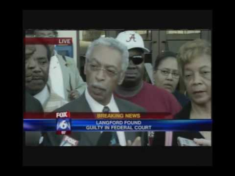 Part 2/3 Larry Langford Press Conference Immediatly after his felony conviction