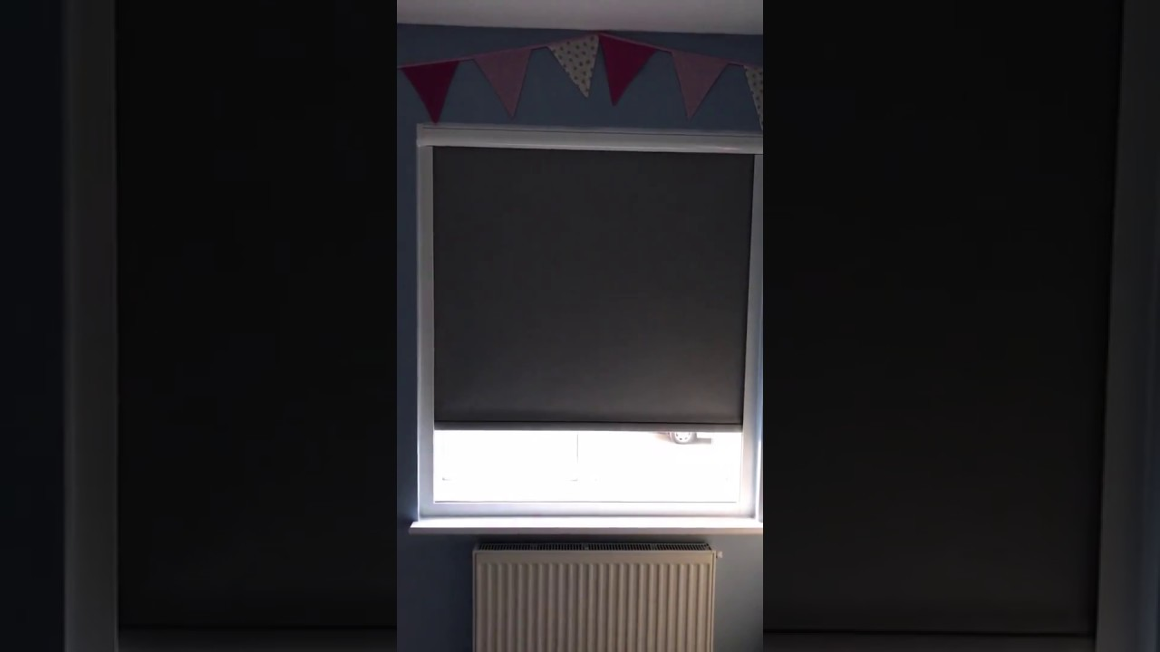 blackout blinds in a cassette for total darkness