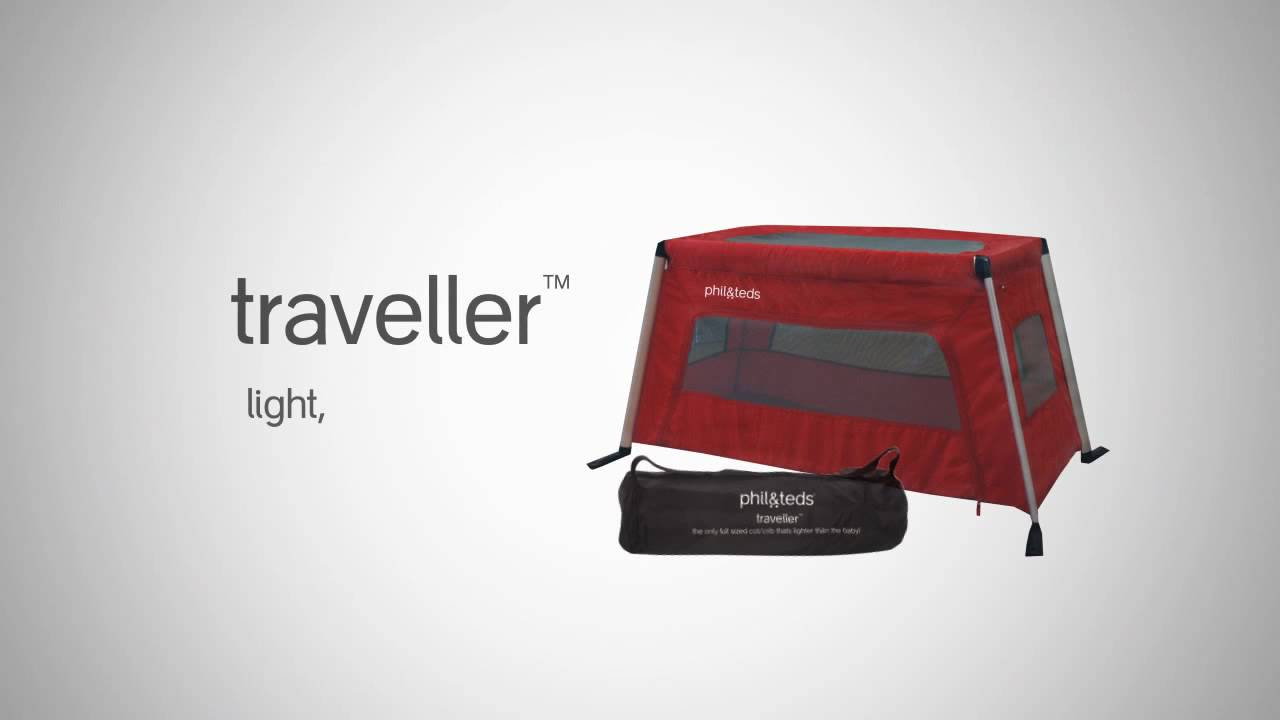 Traveller Travel Cot Phil Amp Teds Youtube