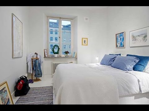 Скандинавский стиль  Лаконичная спальня