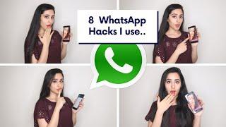 8 Whatsapp Tricks & Secrets You Must Try | HIDDEN FEATURES of WHATSAPP