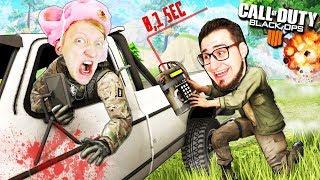 СТОЙ ОЛЕГ! У нас осталось 0.1 секунды до ВЗРЫВА МАШИНЫ В Call of Duty: Black Ops 4 (battle royale)