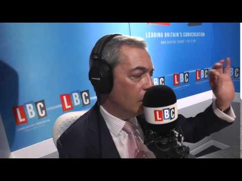 Phone Nigel Farage Live On LBC  - March 2015