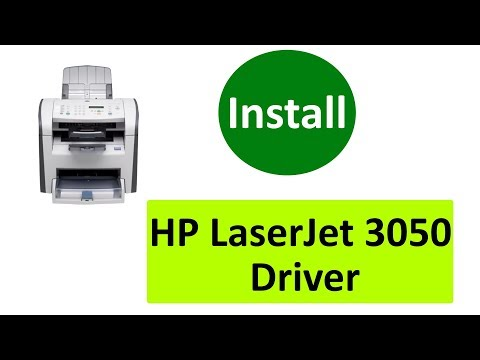 How To Install Printer Driver For HP LaserJet 3050 - Download Driver For Windows 7 And 10