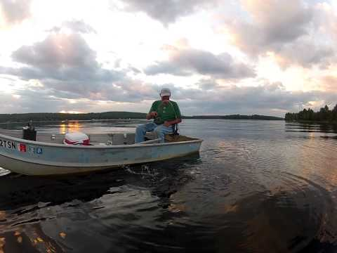 Fishing Pattees Pond in Winslow Maine With Roger..!!!!