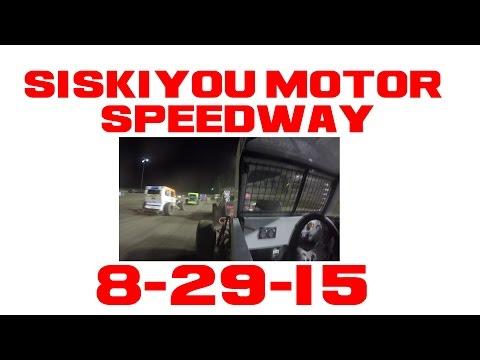 Siskiyou Motor Speedway Feature  8-29-15