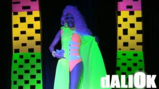 LAtYfA D'WItSHES [ SWIMSUIt - GLOW IN tHE DARK ] MISS GENERAtION ÉBANO 2014