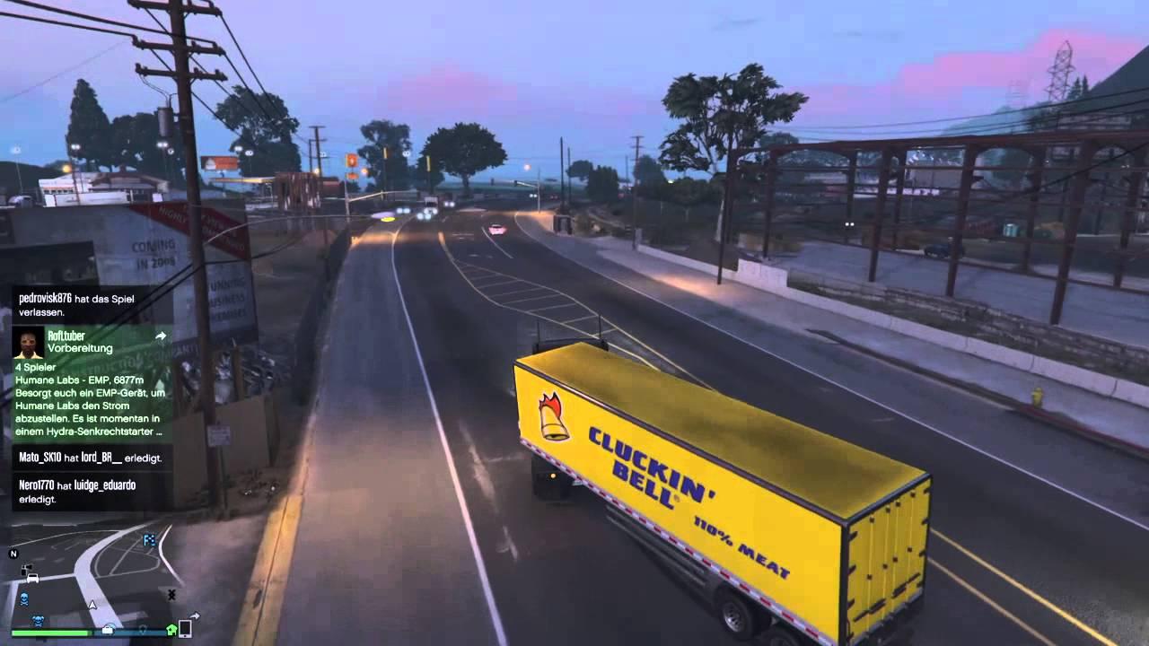 GTA 5 ONLINE Anhänger wie ein Profi anhängen :D - YouTube