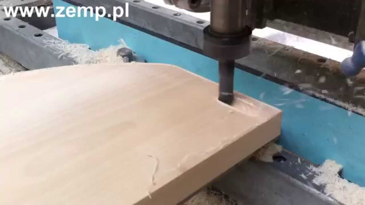 Nowoczesna architektura Frezowanie CNC w drewnie - Nowy Sącz, Piwniczna - YouTube BK43