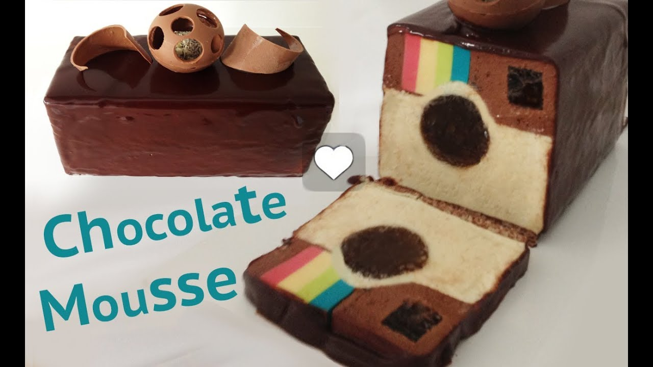 Make Chocolate Mousse Cake Youtube