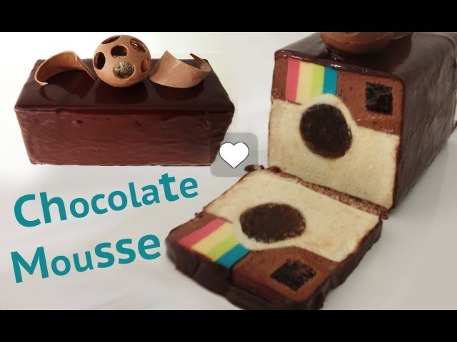 Instagram DESSERT chocolate mousse recipe cake HOW TO COOK THAT Ann Reardon Travel Video