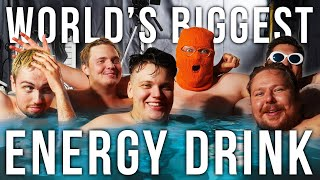WE MADE THE WORLD'S BIGGEST ENERGY DRINK (1250 LITER POOL)