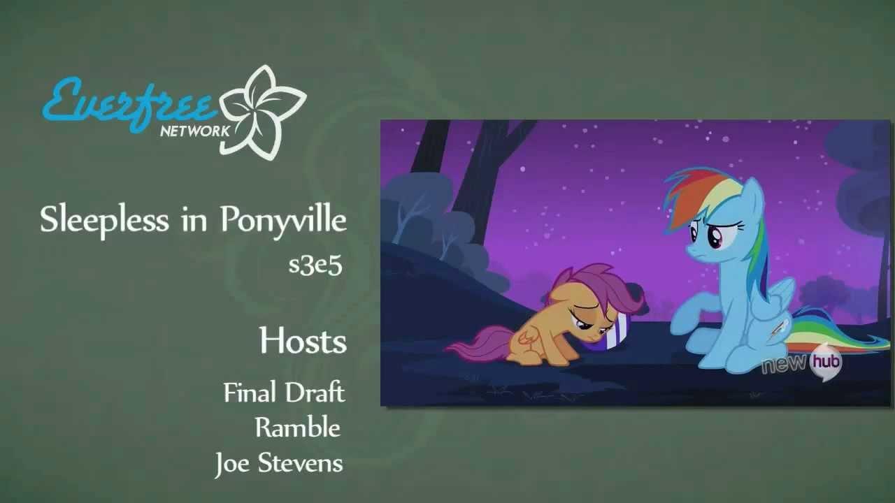 sleepless in ponyville transcript