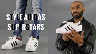 How To Style Adidas Superstars/How To Wear Adidas Superstars/Adidas Superstars Review
