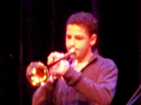 Minnie the Moocher on trumpet  -  live performence