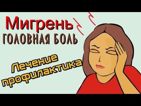 Мигрень головная боль. Как лечить?