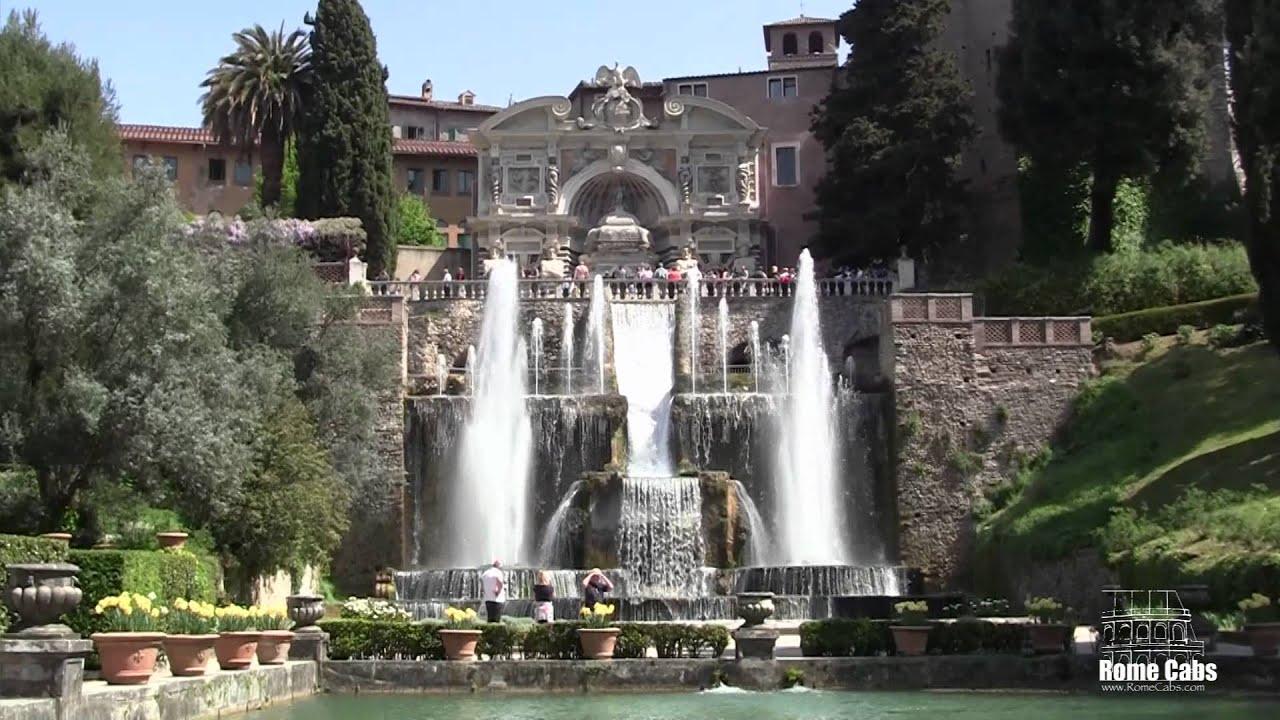 Grand Tivoli Tour Villa D Este And Hadrian S Villa With Stefanorometours Com Youtube