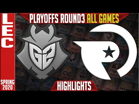 G2 vs OG Highlights ALL GAMES | LEC Spring 2020 Playoffs Round 3 | G2 Esports vs Origen
