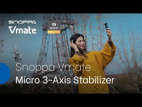 Snoppa Vmate Micro 3-Axis Handheld Gimbal - The World is in Your Hands