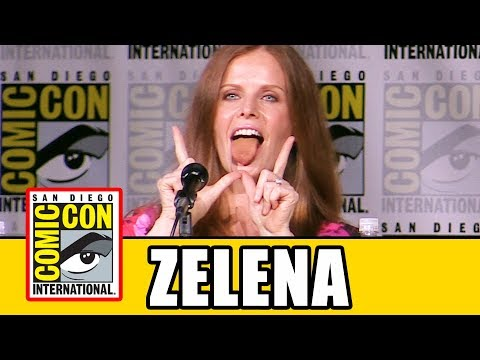 "ONCE UPON A TIME Rebecca Mader ""Zelena"" Comic Con Interview"