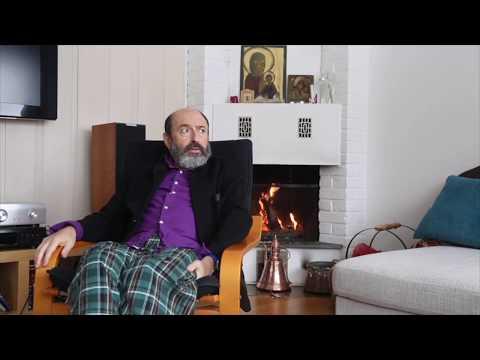 """Interview with Misha Alperin - """"At Home"""" / Интервью с Мишей Альпериным"""