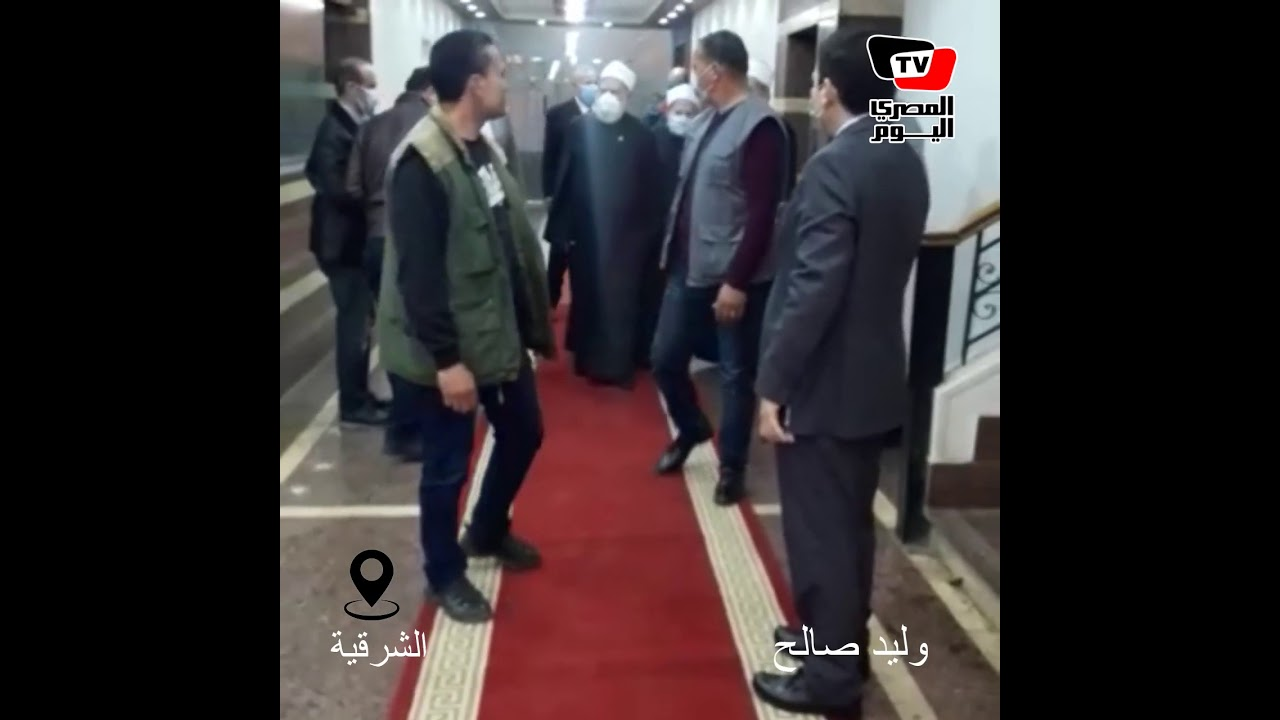 أول تحرك لمفتي الجمهورية بعد قرار رئيس الجمهورية بالتجديد له  - 13:01-2021 / 2 / 25