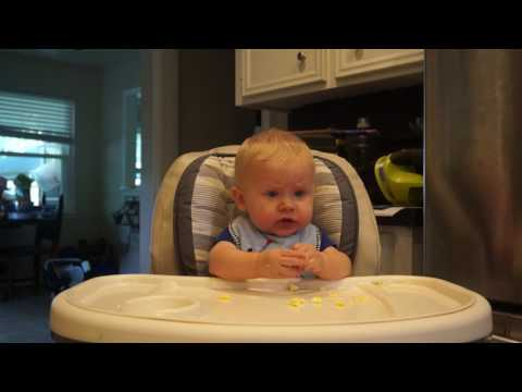 Episode 1: 8 Month Old Eating Scrambled Eggs For The First Time