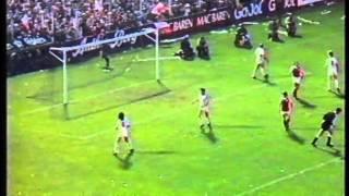 Danmark-Norge 26.09.1984 (VM-kvalifikation 1986)