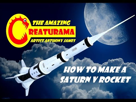 CREATURAMA SPACE How To Make A Space Rocket 3