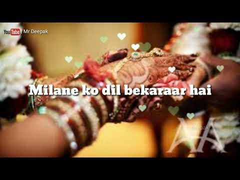 Saajan Mera Uss Paar Hai | Milne Ko Dil Bekaraar Hai| Feeling Love Status Video | Mr Deepak |