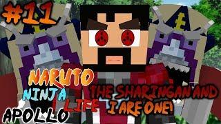 Minecraft Naruto Ninja Life Server (Naruto Anime Mod) | Episode 11 THE SHARIGAN AND I ARE NOW ONE!