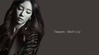 Taeyeon - Devil's Cry lyrics
