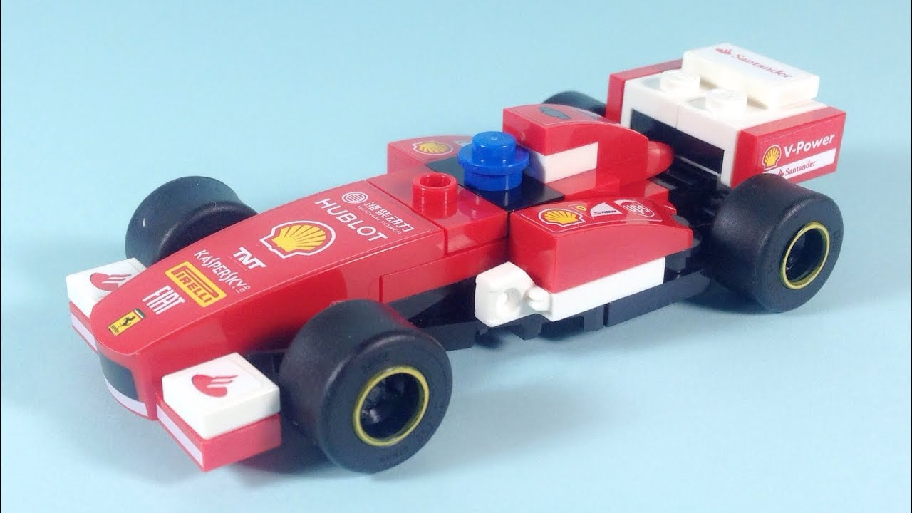 shell lego ferrari 138 car building instructions set 40190 youtube. Black Bedroom Furniture Sets. Home Design Ideas