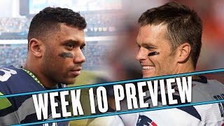 NFL Week 10 preview: Have the Seahawks and Patriots played before? I don't remember | Uffsides